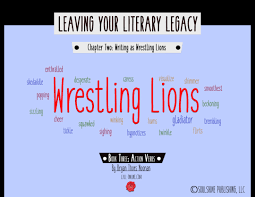 book 3 action verbs chapter 2 writing as wrestling lions