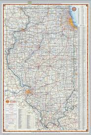 Map Illinois Shell Highway Map Of Illinois David Rumsey Historical Map