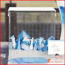wedding wishes professional custom acrylic wedding invitation card box custom acrylic wedding