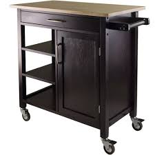 oak kitchen island cart purchase the winsome wood kitchen cart for less at walmart com save