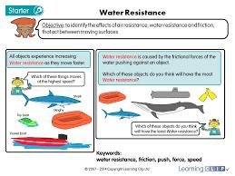 Science Worksheet Water Resistance A Year 5 Science Worksheet