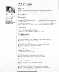 Resume Sample Using Html by Professional Cv For It
