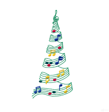 attractive musical christmas tree part 6 christmas tree made of