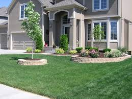 Landscaping Ideas For A Sloped Backyard by Landscaping Ideas For Front Of House With Porch Be Prepared To