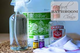 how to make natural bathroom cleaner natural bathroom cleaner the kitchen wife
