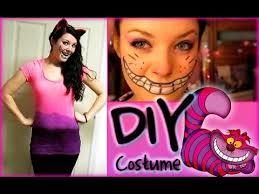 Cheshire Cat Costume Styloween Diy Cheshire Cat Costume Makeup Youtube