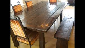 dining room tables bench seating bench seat for dining room table youtube