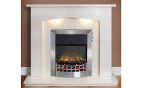 chilmark micro marble fireplace suite