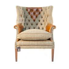 Tetrad Armchair Tetrad Upholstery Harris Tweed Mackenzie Chair