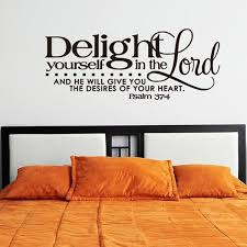 Home Decoration Wall Stickers Home Decoration Bible Verse Design Wall Art Sticker Black In Wall