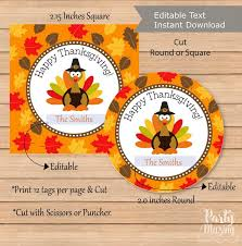 editable thanksgiving favor tag printable happy thanksgiving day