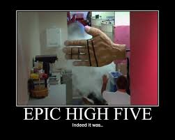 High Five Meme - an epic high five by kataang6201 on deviantart