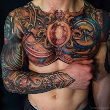 75 brilliant chest tattoos for