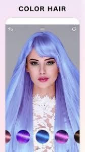 hair cor for 66 year old women fabby look hair color changer style effects android apps on