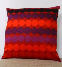 pink home decor fabric custom marimekko pillow covers