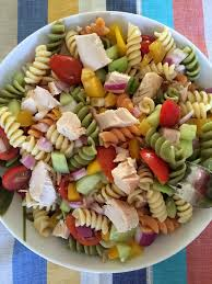 chicken pasta salad easy chicken pasta salad healthy main dish pasta salad recipe