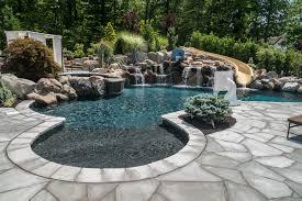 inground pools livingston nj pools by design new jersey custom