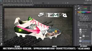 nike design your own re design 3 nike tiempo football boots by bamdesigned
