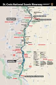 map st croix croix valley map explore the and scenic st croix valley