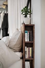 smart bedroom storage book rack design small solutions bookshelf