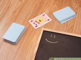 3 ways to make your own card wikihow