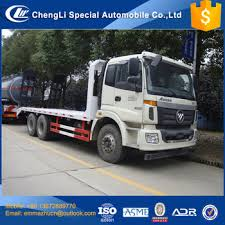 cheapest brand chengli sale cheapest brand foton 6x4 20t flat bed trucks made