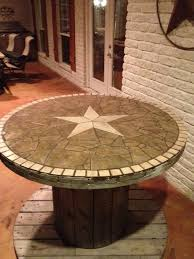 Cable Reel Table by Wooden Spool Table Texasbowhunter Com Community Discussion