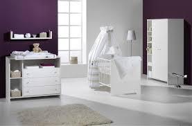 chambre bebe blanc chambre bébé lit commode armoire eco white schardt