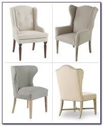 Linen Wingback Chair Design Ideas Abbyson Living Kyrra Tufted Linen Wingback Dining For