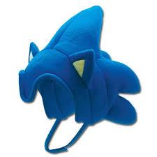 Sonic Shadow Halloween Costume Sonic Hedgehog Costume Headpiece Fleece Hat Hedgehogs