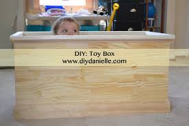 toy box diy danielle