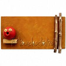 buy texture paint key hanger to gift on housewarming ceremony