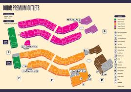 Nike Map Johor Premium Outlets Jpo Malaysia Asia