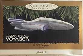 hallmark keepsake ornament trek u s s voyager