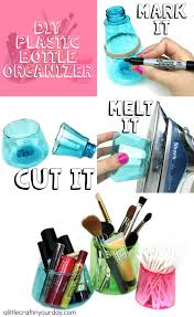 diy plastic bottle organizer a little craft in your day