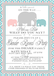 baby elephant gender reveal invitation etsy considering i call