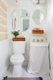 Skirt For Pedestal Sink by 8 Ways To Tackle Storage In A Tiny Bathroom Hgtv U0027s Decorating