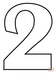 number coloring page numbers sesame street 2 educations of pages