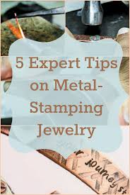 What Side Does A Stamp Go On Best 25 Stamping On Metal Ideas On Pinterest Metal Stamping