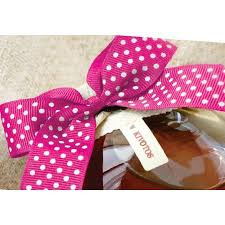 pink polka dot ribbon el dorado swiss dot ribbon boxandwrap