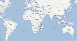 China On World Map by Mayotte Map