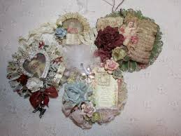 thetara148 paper christmas ornaments and of course a shabby chic
