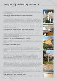 Outrigger Awnings Outrigger Brochure Bookmarked