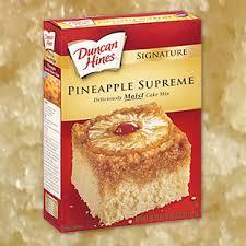 use crushed pineapple baking tip duncan hines