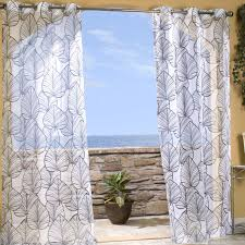 Outdoor Curtains With Grommets Indoor Outdoor Curtains Homesfeed