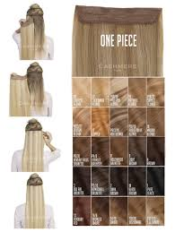 Blonde Weft Hair Extensions by One Piece Hair Extension California Blonde Cashmere Hair
