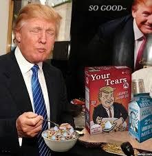 Breakfast Meme - his favorite breakfast donald trump know your meme