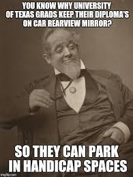 Funny Texas Memes - texas university stinks imgflip