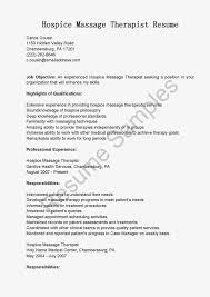New Massage Therapist Resume Examples by Hospice Massage Therapist Cover Letter