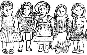 american doll coloring pages wecoloringpage